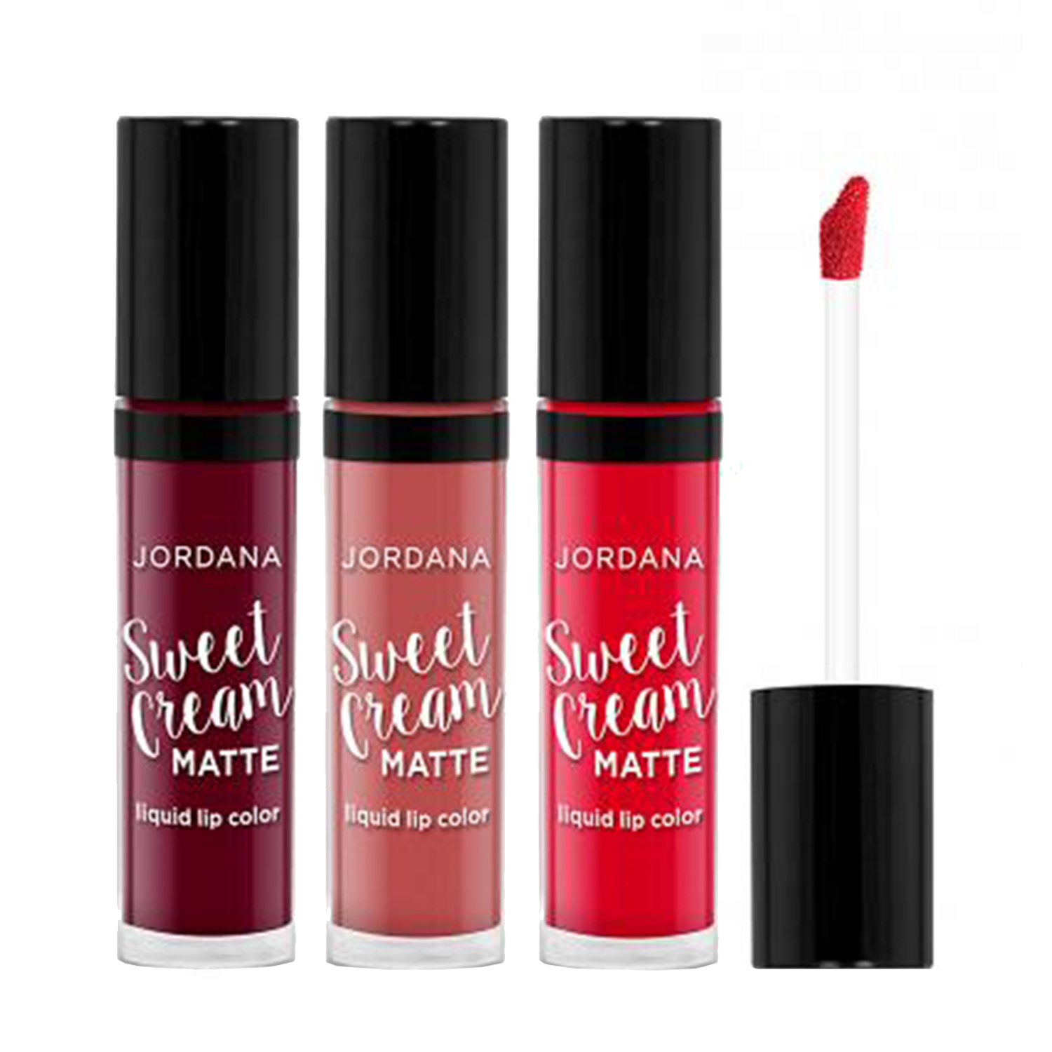 Recently Viewed Products. JORDANA Sweet Creme Matte Liquid Lip Color