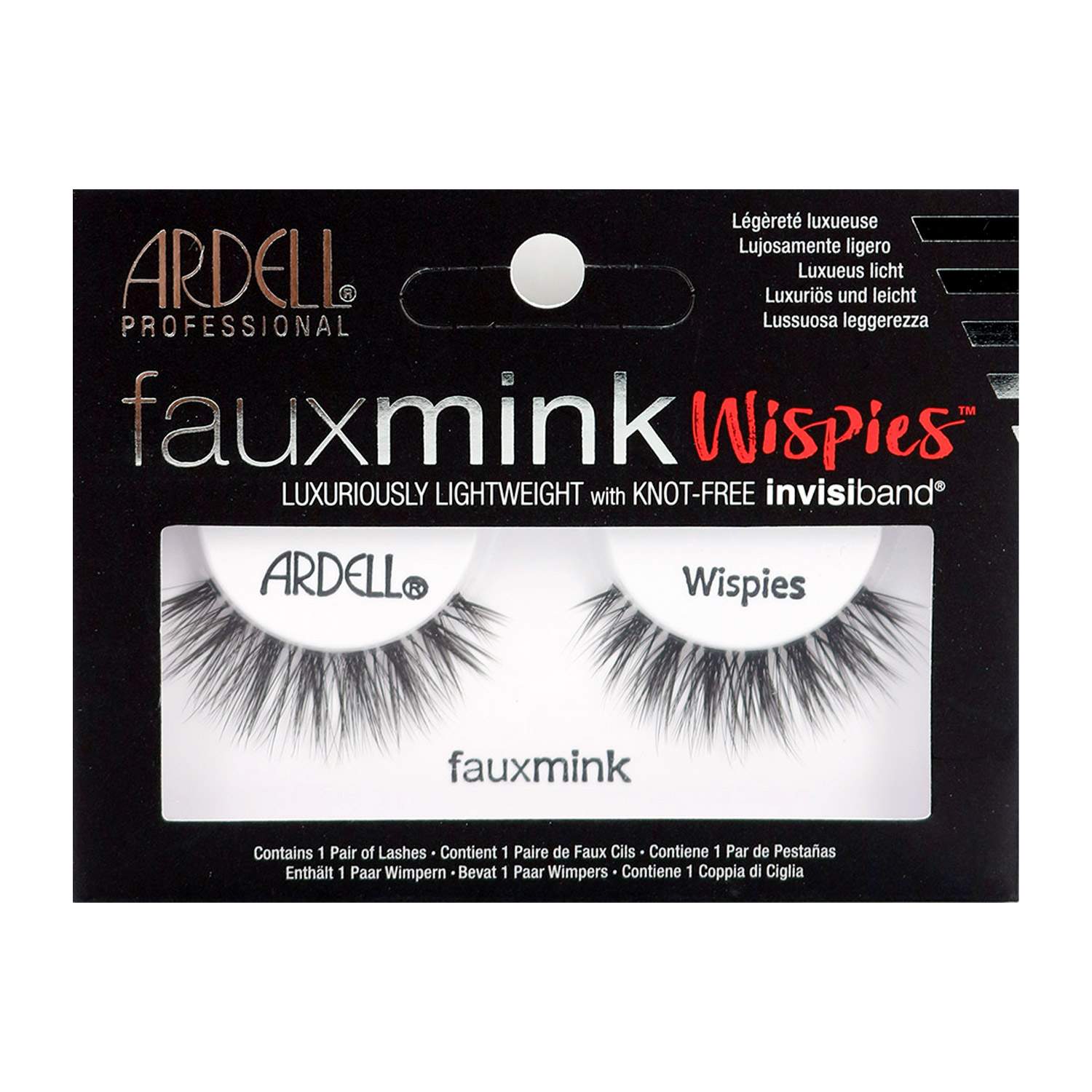 0881c4f1083 ARDELL Fauxmink Luxuriously Lightweight with Invisiband