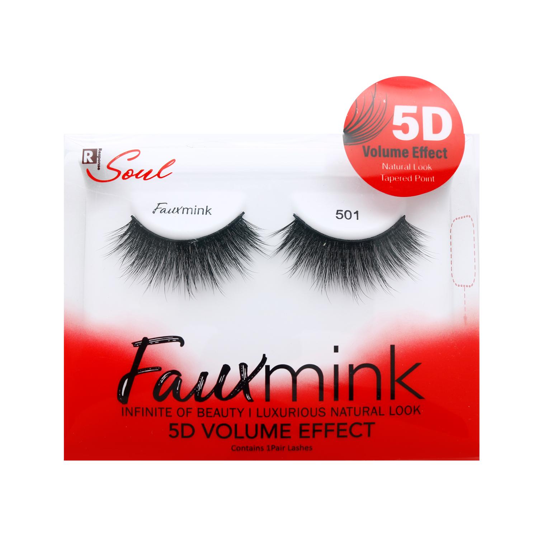 a8ab032edfe Response Faux Mink 5D Volume Effect Eye Lashes