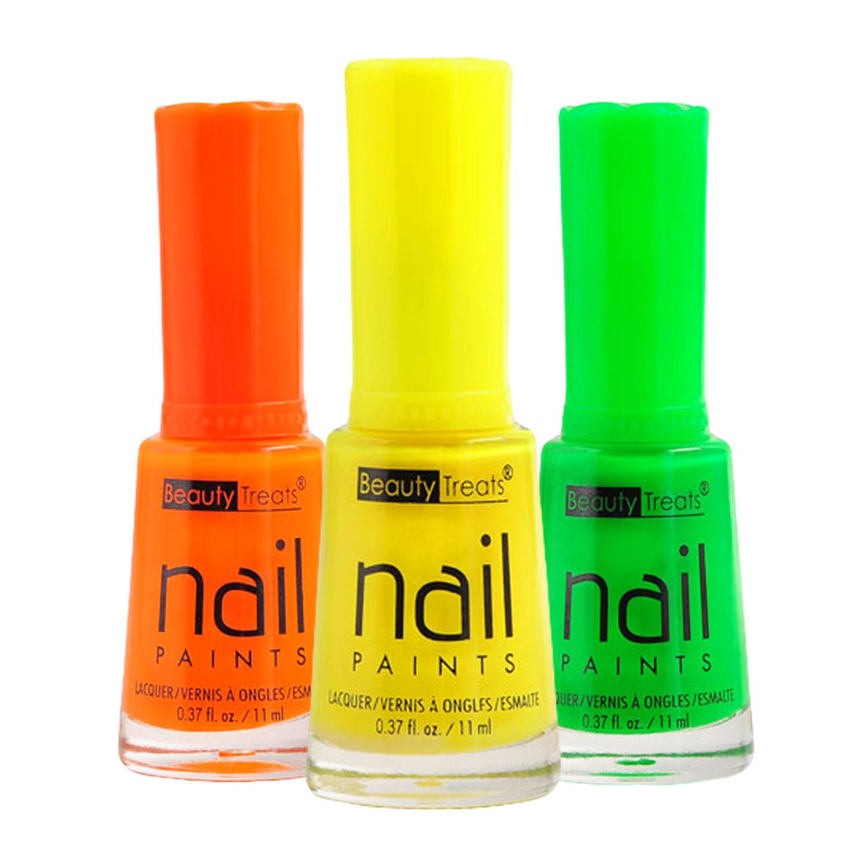 Beauty Treats Neon Nail Paints Nail Polish - iKateHouse