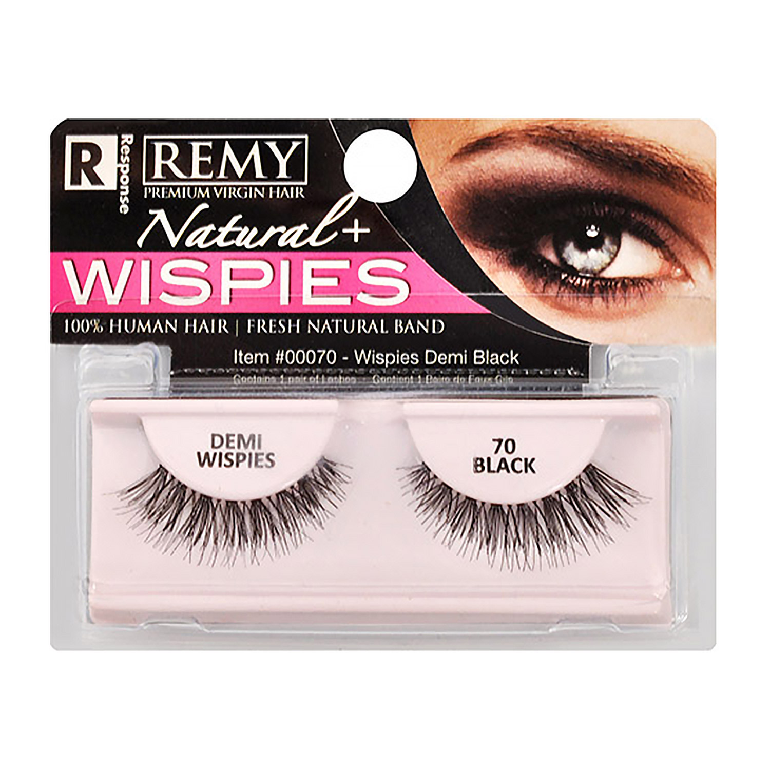 4a2cc58a8a5 Response REMY(Premium virgin hair) Natural + Wispies. Regular Price: $2.99.  Special Price: $1.99. KISS VLuxe Silk Chiffon Eyelashes