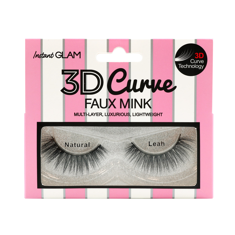 4cef480b42f 3D Curve Faux Mink Eyelashes