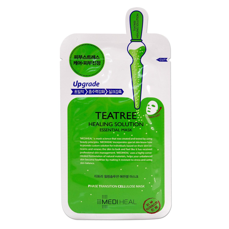 Skincare Ikatehouse Secret Key Nature Recipe Mask Pack Tea Tree 20g 3pcs Mediheal Teatree Healing Solution Essential