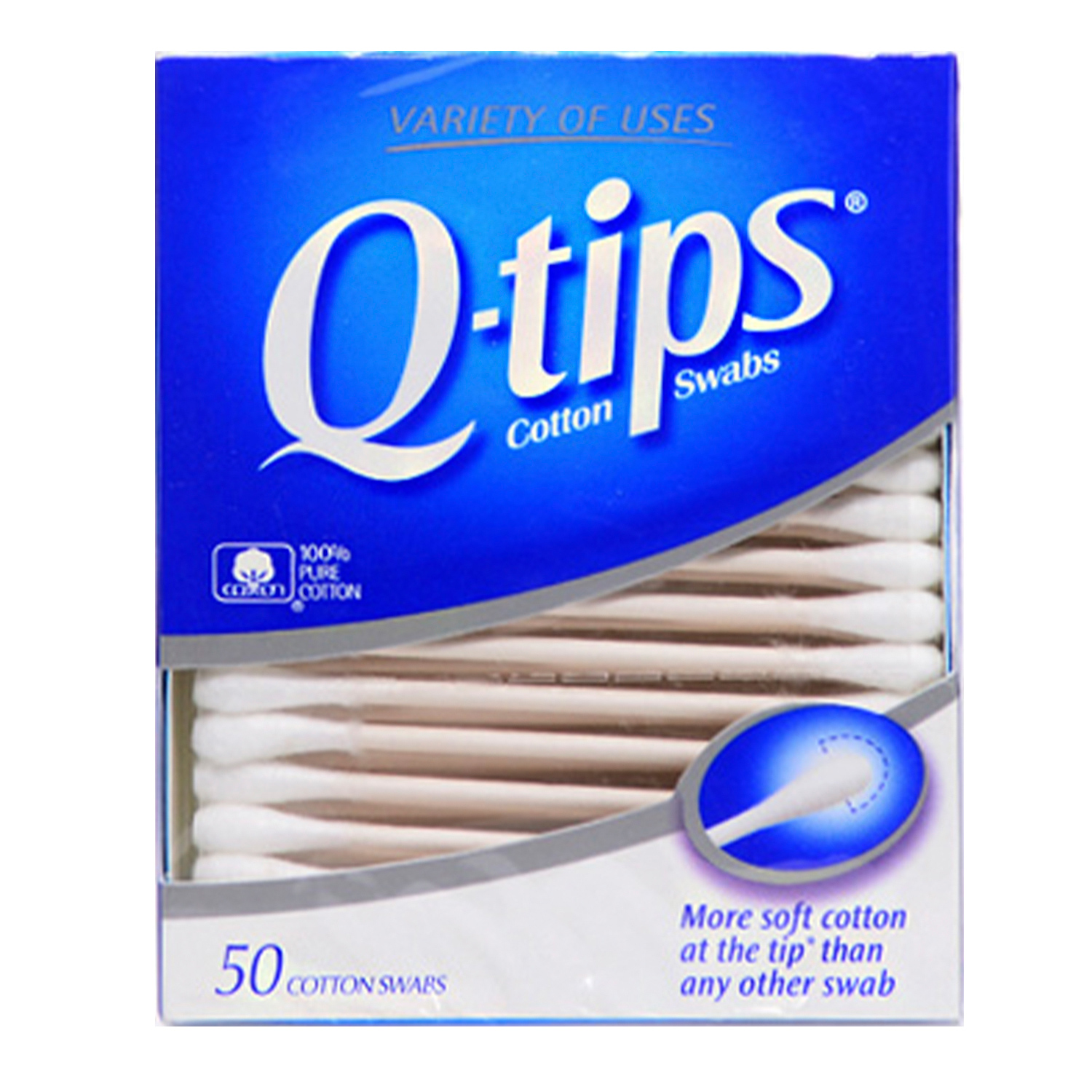 Q-tips 50 Cotton Swabs - iKateHouse